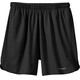 "Patagonia M's Strider Shorts 7"" Black"